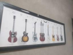 Quadro de guitarras.