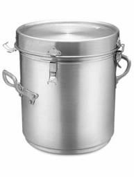 Marmitão térmico 35 litros. Alumínio ABC