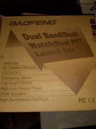 Rádio Baofeng UV-82 dual band, novo