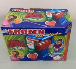 Máquina de brinquedo frozen raspadinha