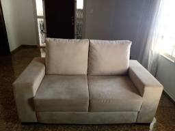 500reais sofá de 3e2 lugares novo 17- *