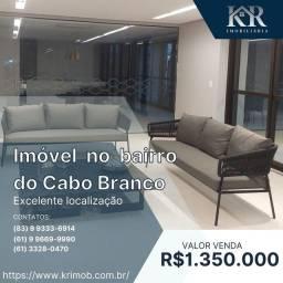 Título do anúncio: Cobertura com 2 dormitórios à venda, 120 m² por R$ 1.350.000,00 - Altiplano Cabo Branco -