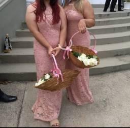 Vestido p/ madrinhas de cerimônias Tam G