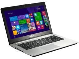 Título do anúncio: Notebook Asus Vivobook I5, 8gb ram, 120gb SSD, tela touch - Aceito cartão