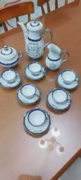 Jogo de porcelana Bodas de Prata