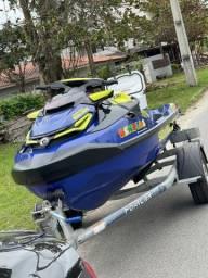Título do anúncio: Jet ski Sea doo Wake pro 230 troco por 300 LIMITED 2021
