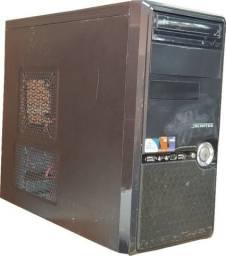 Computador Pentium(R) Dual-Core CPU E5500 2.80GHZ, memória 4GB, HD 300GB
