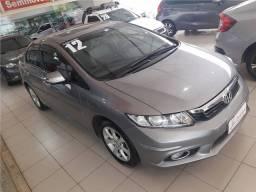Honda Civic 2012 1.8 exs 16v flex 4p automático