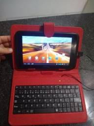 Título do anúncio: Tablet genesis funcionando certinho com teclado