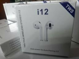 Fone de ouvido bluetooth i12TWS