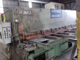 """Guilhotina hidraulica Fermasa 1/2"""" x 4000 mm"""