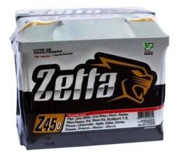 Bateria Zetta 45 AH Z45D Uno Fiesta Ka Ecosport Focus Nissan March