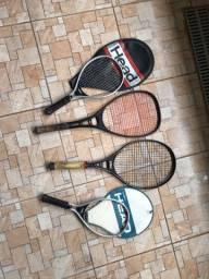 4 raquetes