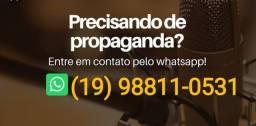 Título do anúncio: Gravação de anúncios e propaganda