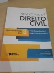 Vendo livros de Direito Civil