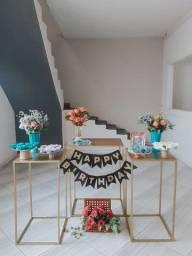 Mesas para festa
