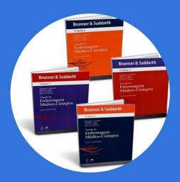 Tratado de enfermagem médico-cirúrgica - 4 volumes  Brunner e suddarth