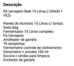 Kit Cerveja Artesanal Biab 10L