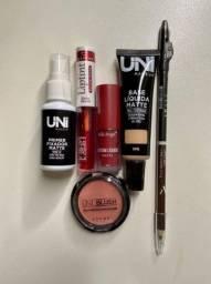 Kit maquiagem 6 produtos, dia dos namorados.