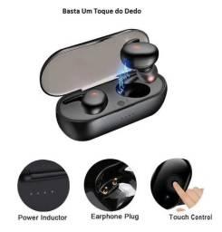 Fone de Ouvido Intra-Auricular com Bluetooth 5.0 Sem Fio com Controle de Toque