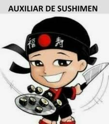 Título do anúncio: VAGA AUXILIAR DE SUSHIMEN