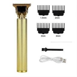 Título do anúncio: Barbeador Profissional  T9 Vintage - Gold Lisa