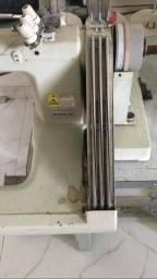 Título do anúncio: máquina costura braço 3 agulhas com catraca