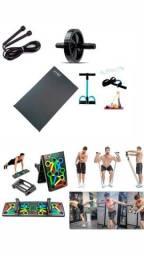 Aparelhos pra exercícios ginástica e musculação em casa