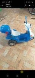 Título do anúncio: Vendo moto elétrica infantil