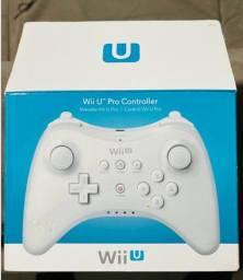 Wii U Pro Controller Nintendo Original Raridade Na Caixa