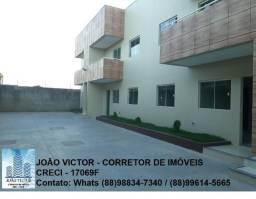 Alugo apartamentos no bairro Lagoa Seca, em Juazeiro do Norte - CE
