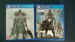 Troco Bloodborne e Destiny