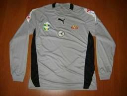 Camisa de goleiro do Jabaquara. Puma