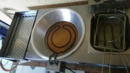 Tacho para pastel e fritadeira completo