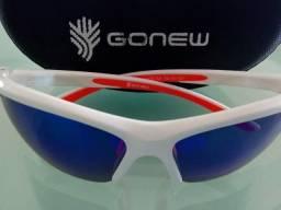 Óculos Polarizado Gonew Fitter com Clip para Grau Removível - Branco ee76ec59a1
