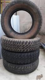 4 pneus 215/80/16