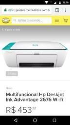 Impressora WiFi Multifuncional HP