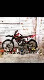 Vendo xtz motor 150 mais equipamentos - 2004