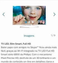 Tv philips led smart full hd 3d 47 polegadas