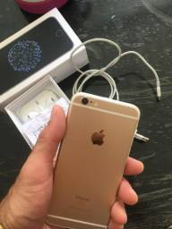 Celular IPhone 6s 64 GB dourado