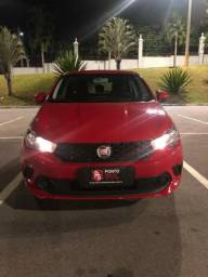 E3 Fiat Argo Drive 1.0 6v - multimidia - baixo km - vermelho - 3 cilindros - 2018