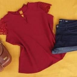 Blusas Crepe e T-shirts