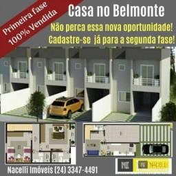 Título do anúncio: Casa com 2 dormitórios à venda, 87 m² por R$ 250.000,00 - Belmonte - Volta Redonda/RJ