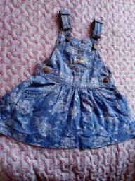 Vestido/Jardineira  infantil