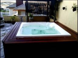 Título do anúncio: Banheiras Spas Ofurô Deck Hidromassagem área de Lazer