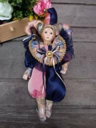 Boneco porcelana Bobo da Corte antigo