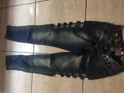 Calca jeans nova 45,00