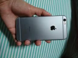 Iphone 6 s semi novo cor prata
