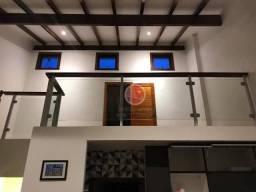 Apartamento com 1 dormitório e mezanino transformado em quarto venda, 76 m² por r$ 250.000