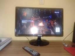 "Samsung Tv LED Monitor 24"", conversor integrado"